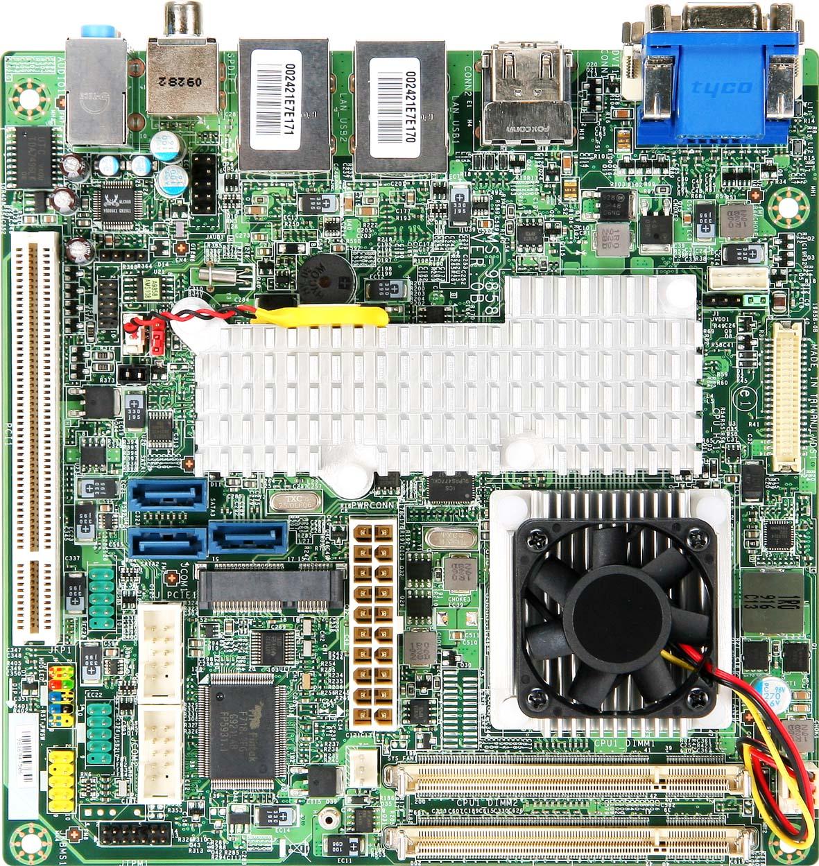 全新AMD RS780E mini-ITX工業用主機板 AM-780E