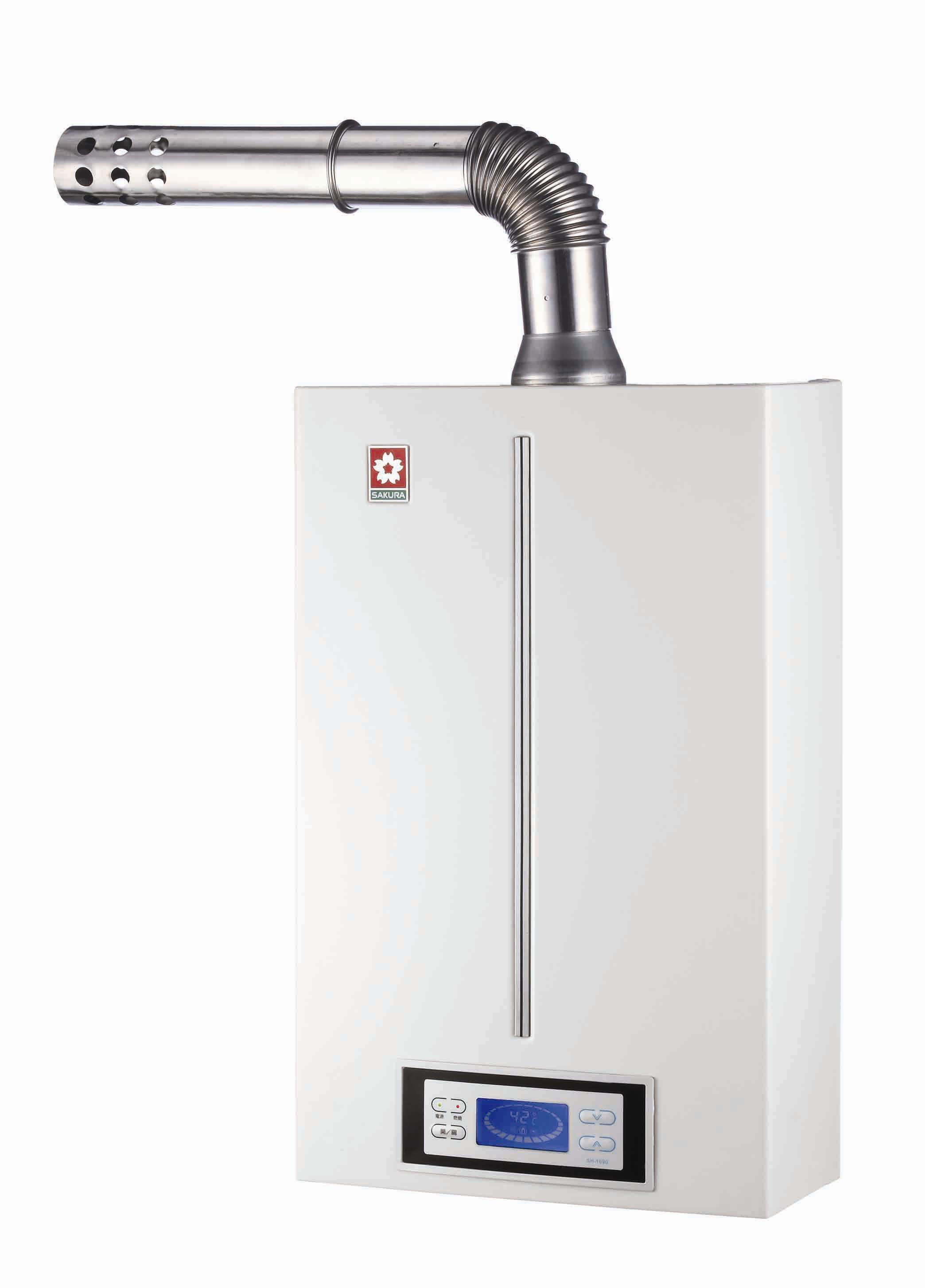 SPA Series-Digital temperature-modulated Gas Water Heater / TAIWAN SAKURA CORPORATION