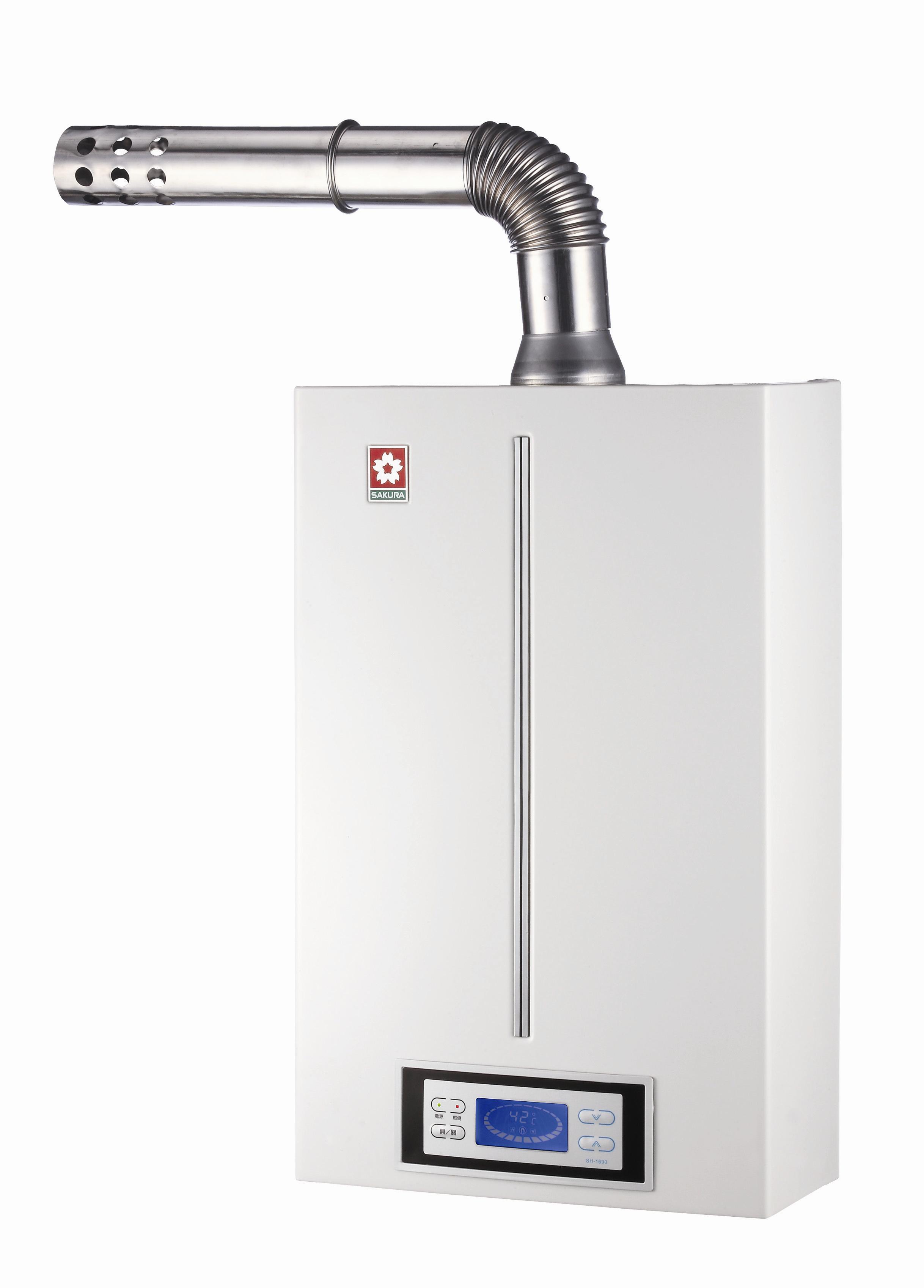 浴SPA數位恆溫熱水器