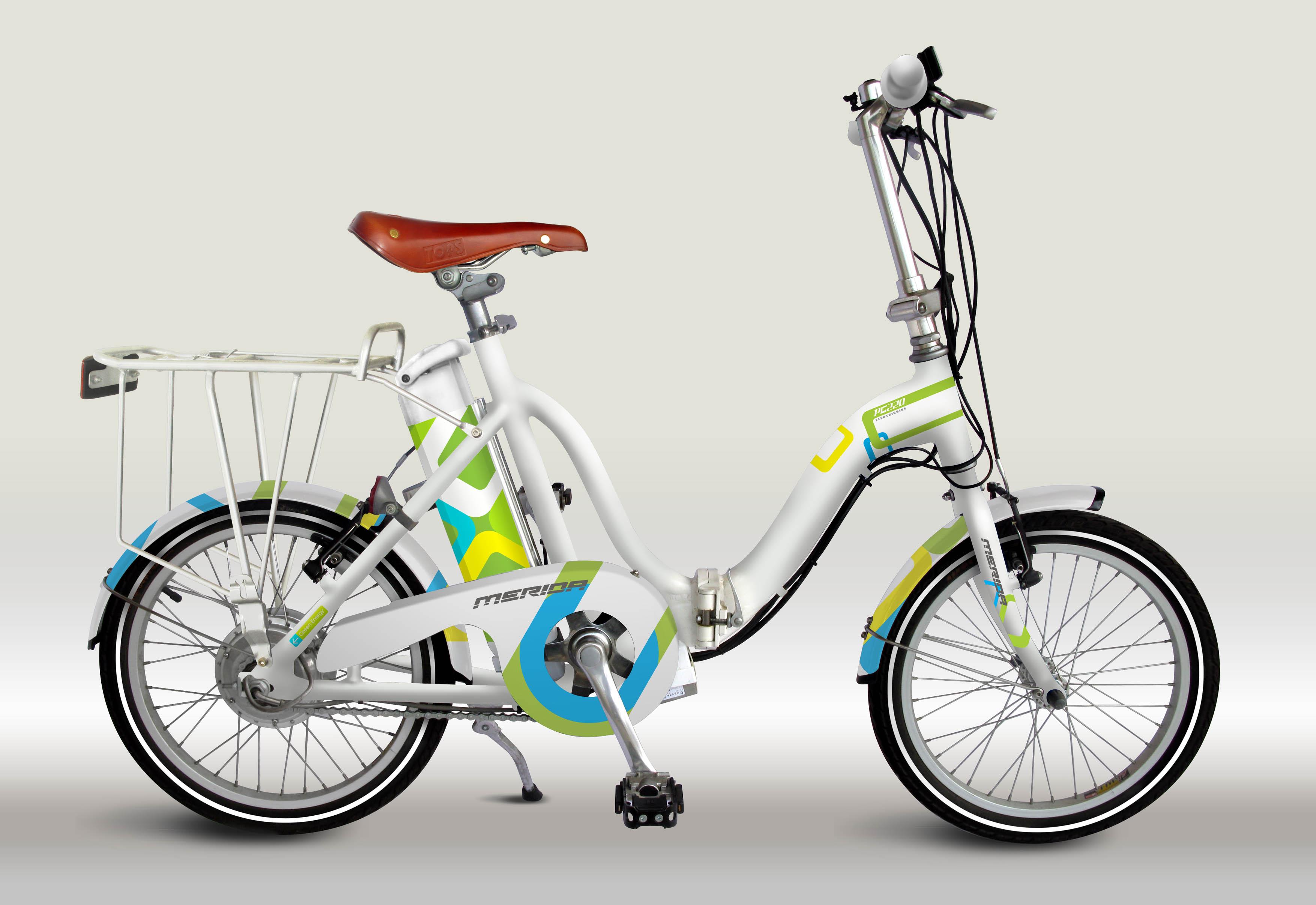 折疊式電動自行車