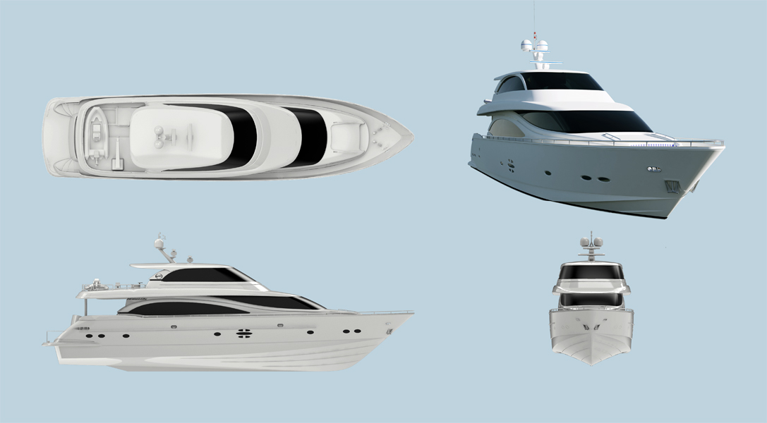 88 feet motor yacht / Horizon Yacht Co., Ltd.
