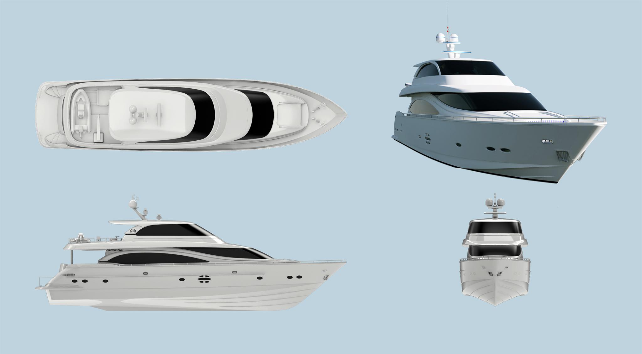 88呎豪華遊艇