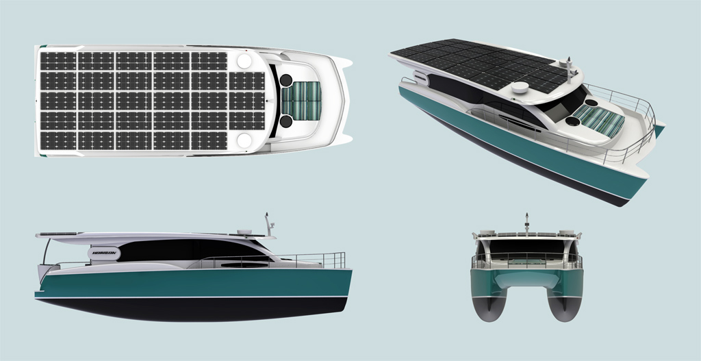 46 feet Solar power yacht / Horizon Yacht Co., Ltd.