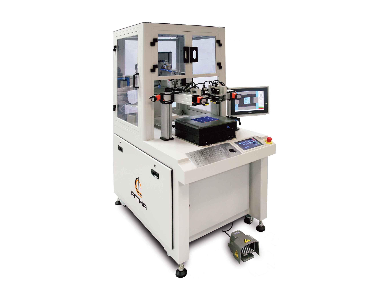 綠能矽晶片居中對位網印機 / 東遠精技工業股份有限公司
