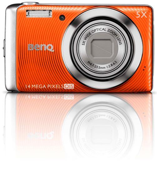 BenQ 智慧型光學防手震相機照相機 / 明基電通股份有限公司