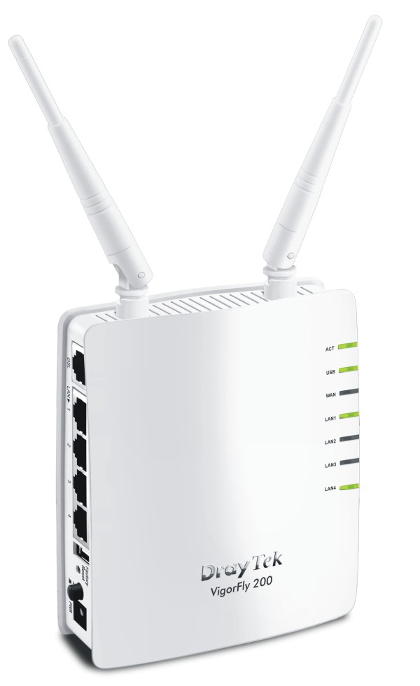 The first WiMAX/LTE integrated WiFi Router / DrayTek Corporation