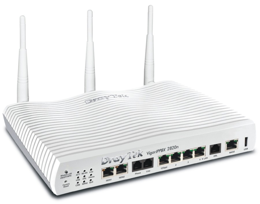Integrated IP-PBX & ADSL Router / DrayTek Corporation