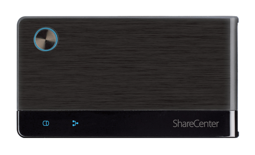 ShareCenterTM 2Go, 1-Bay Portable Network / USB Storage