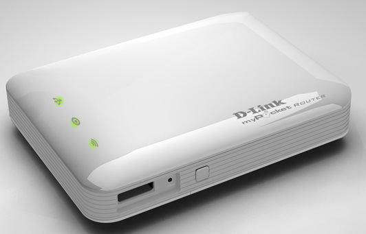 3G Pocket Router with battery