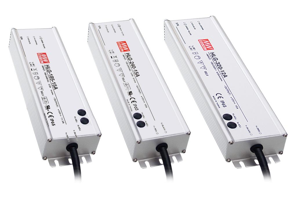 High Efficiency Waterproof LED Power Supply / MEAN WELL ENTERPRISES CO., LTD.