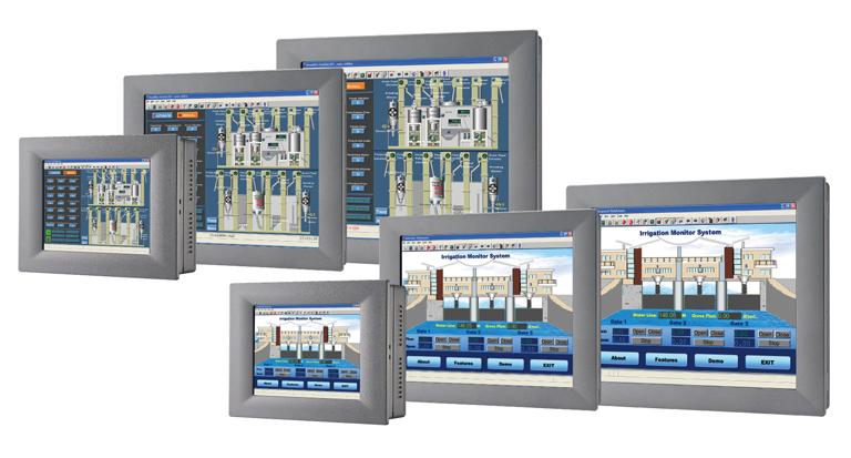 低功耗寬溫工業級觸控電腦 / 研華股份有限公司