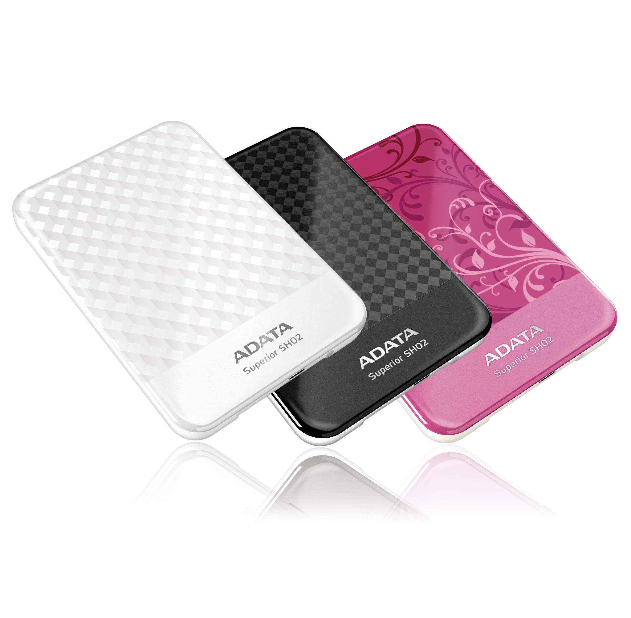 花漾美型外接式硬碟 / 威剛科技股份有限公司
