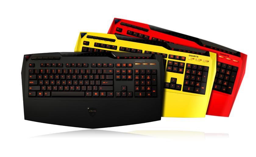 遊戲級手感電競鍵盤 / 技嘉科技股份有限公司
