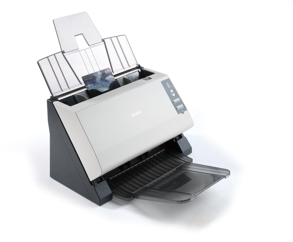 高速硬卡饋紙式文件掃描器