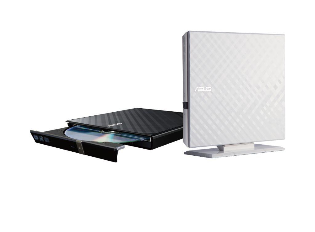 8X外接式超薄DVD燒錄機 / 華碩電腦股份有限公司