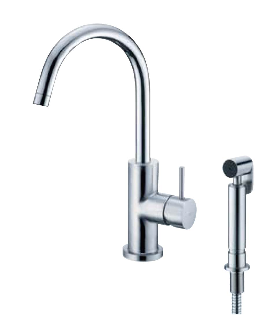 Kitchen Faucet With Sprayer / SHENG TAI BRASSWARE CO., LTD.