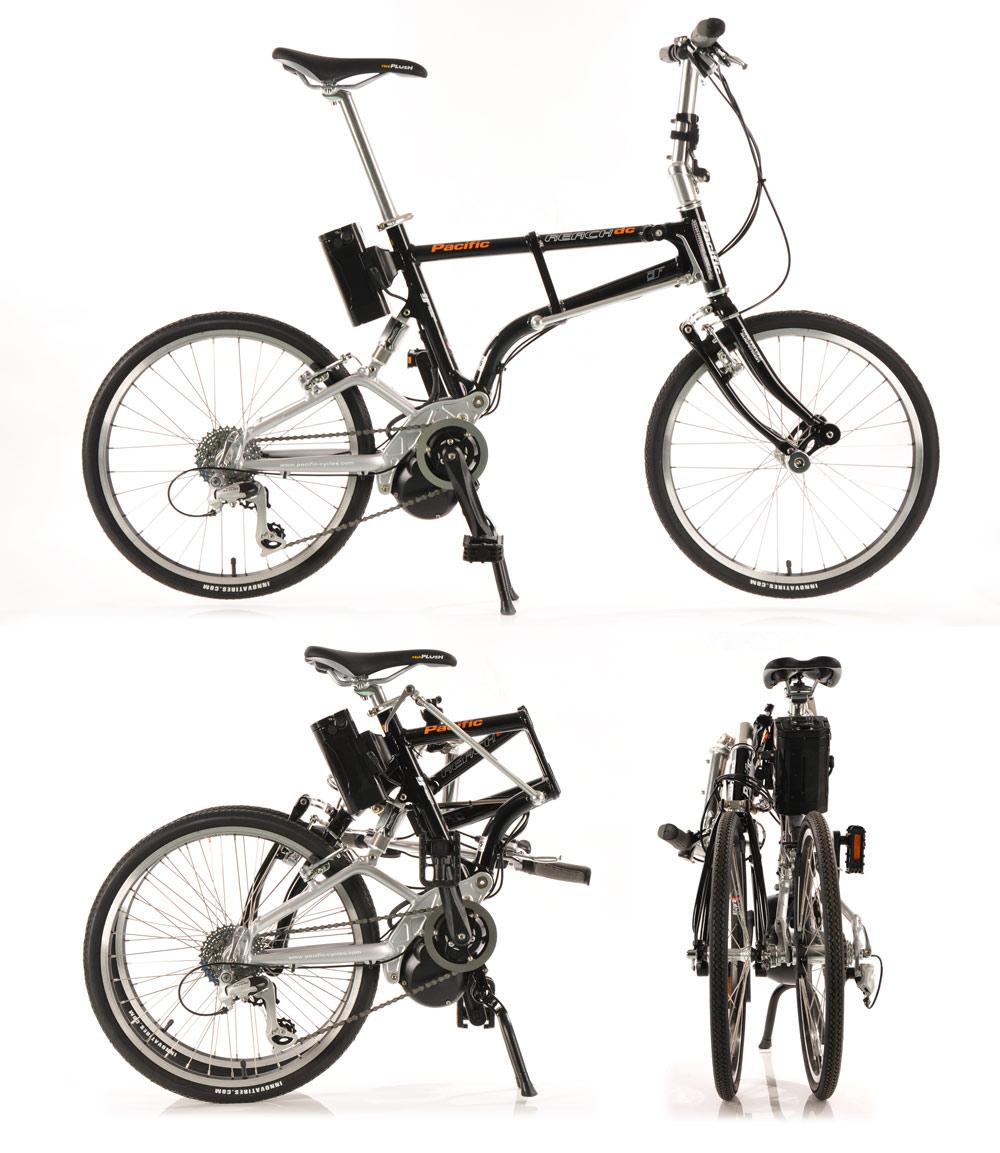 IF Reach 折疊式助動車 / 太平洋自行車股份有限公司