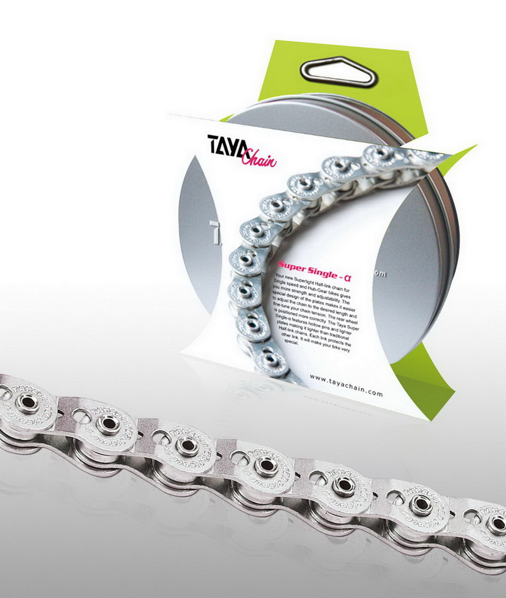 Rustproof eco-chain / TAYA CHAIN CO., LTD.