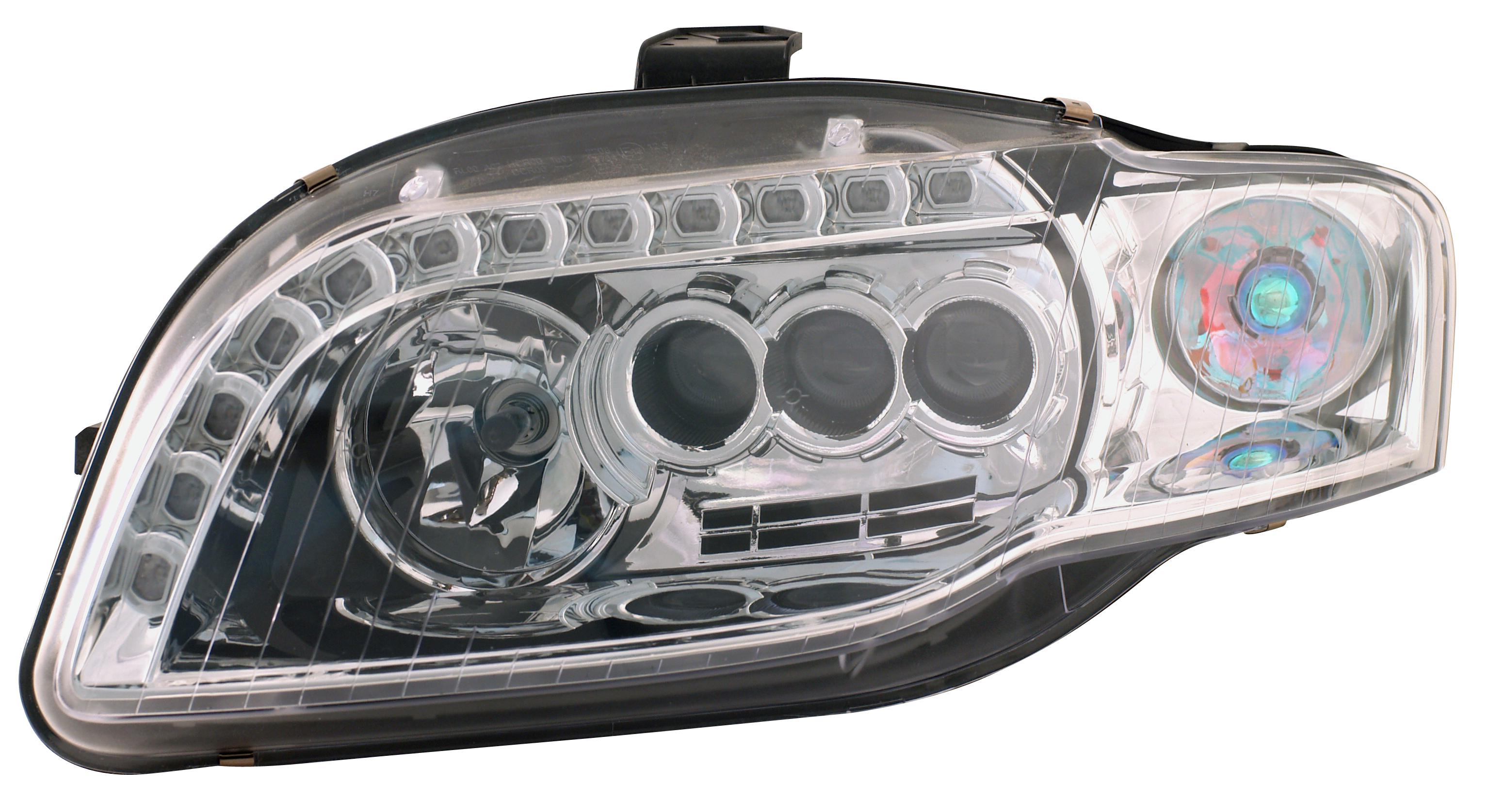 車用LED光源大燈含DRL晝行燈 / 堤維西交通工業股份有限公司