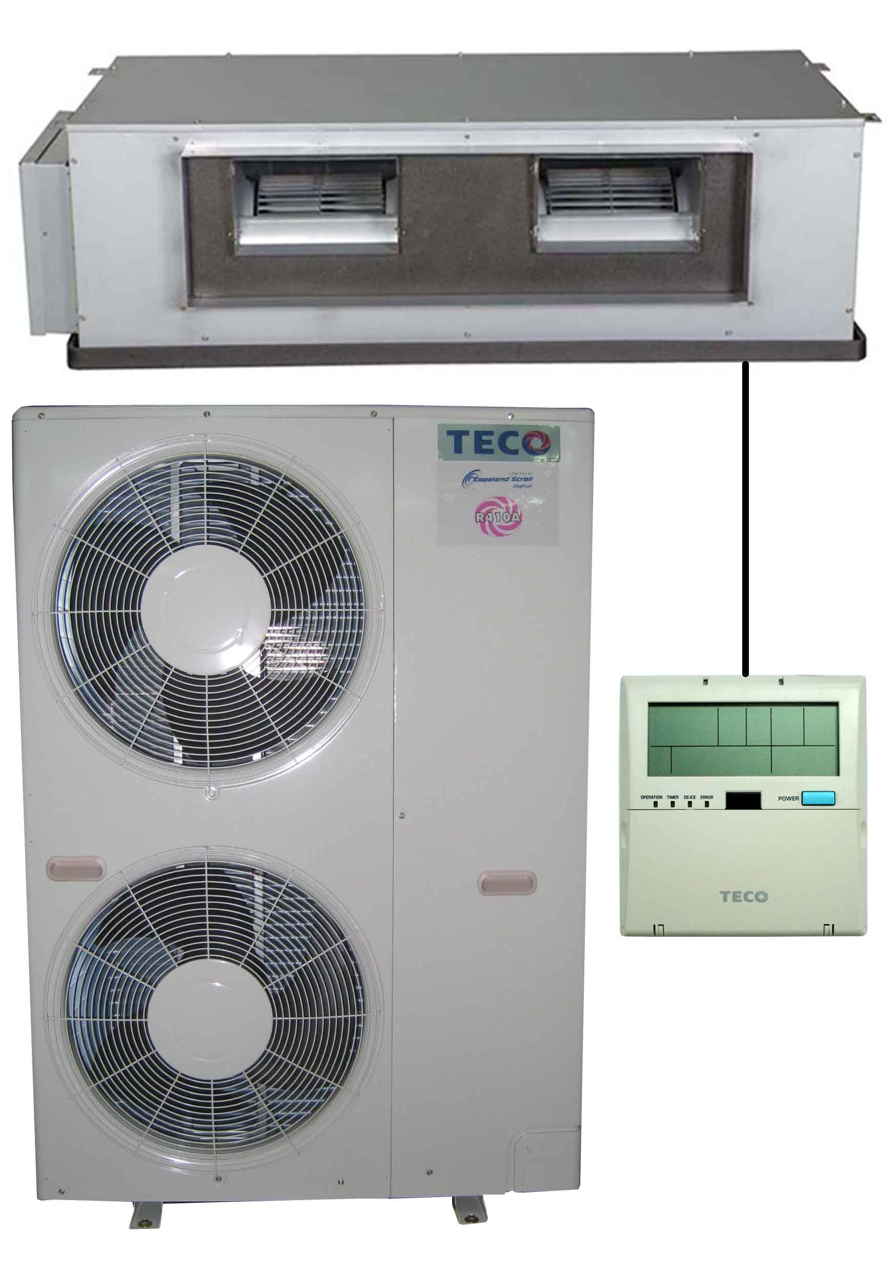Variable-Ducted Split Airconditioner / TECO ELECTRIC & MACHINERY CO., LTD.