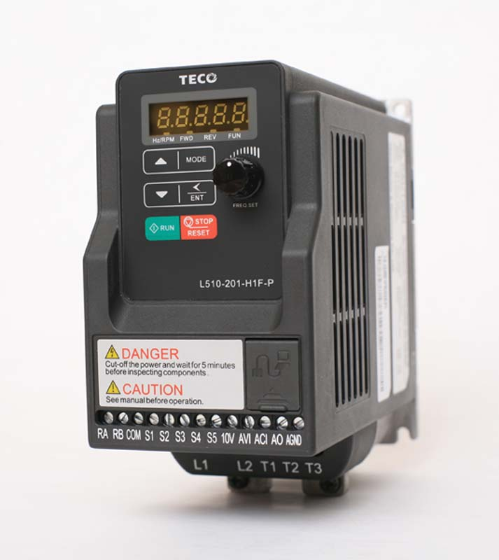 L510 Series Variable Frequency Drive  / TECO ELECTRIC & MACHINERY CO., LTD.