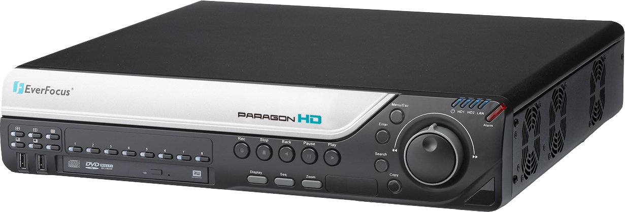 8Ch HD-SDI Full HD Digital Video Recorder / EverFocus Electronics Corp.