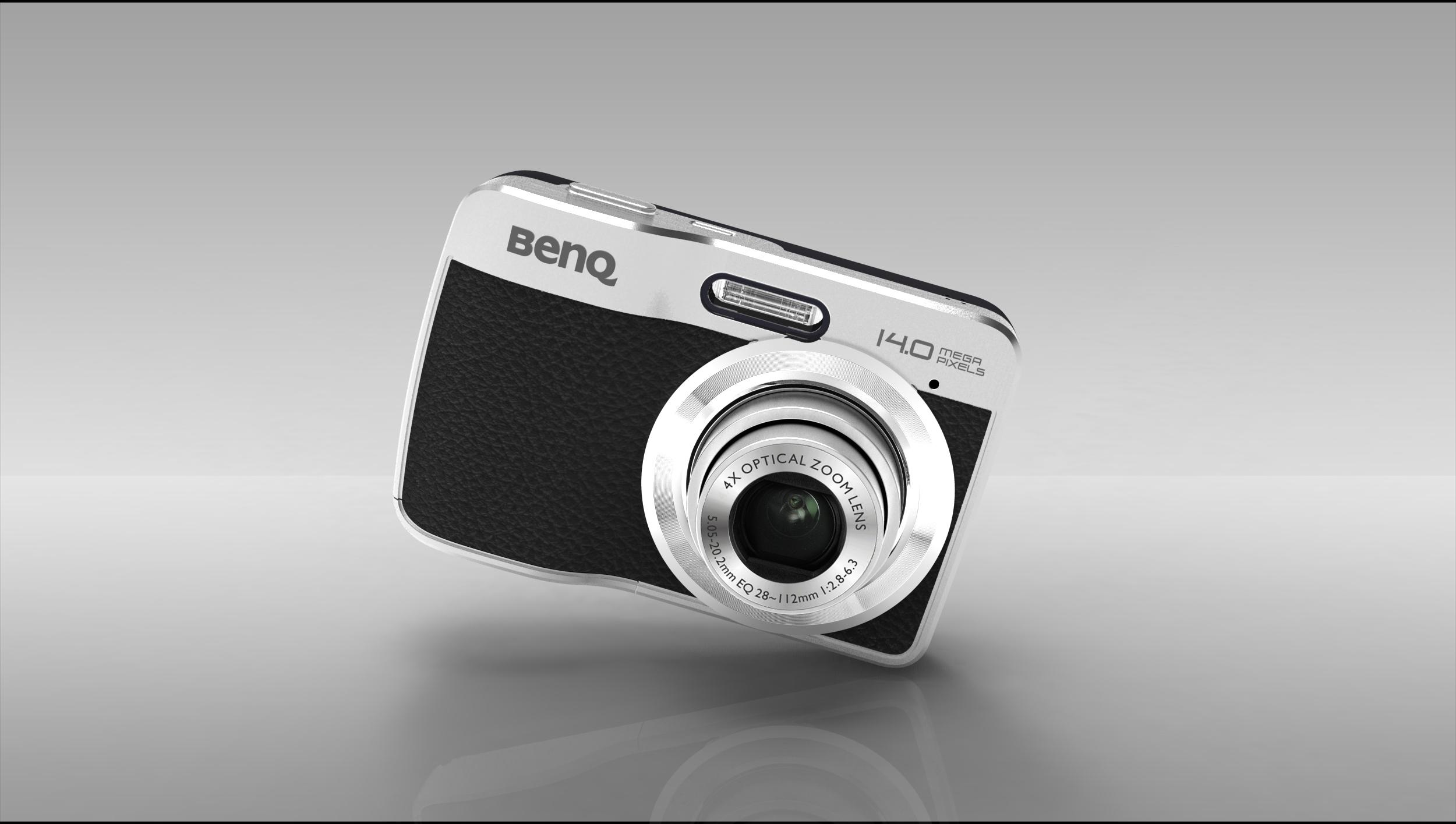 BenQ環保設計數位相機