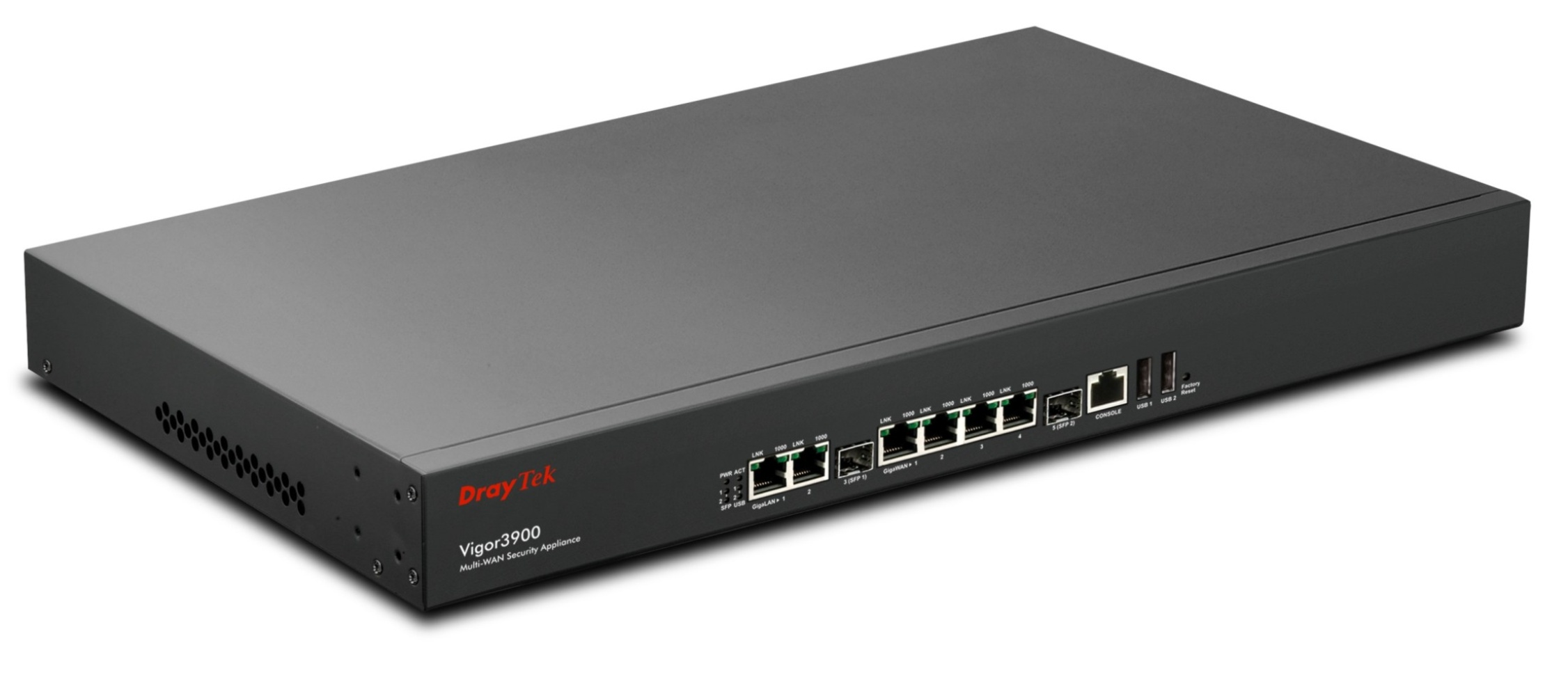 Vigor3900 Central site VPN Gateway