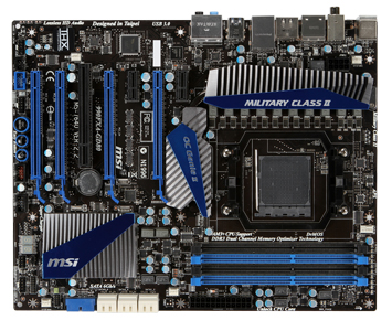 A gaming mainboard supports one sec overclocking and unlock core at the same time / Micro-Star International Company Limited