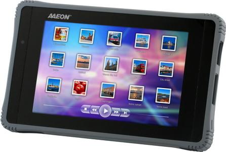 "7"" Industrial-grade,Rugged Tablet Computer / AAEON Technology Inc."