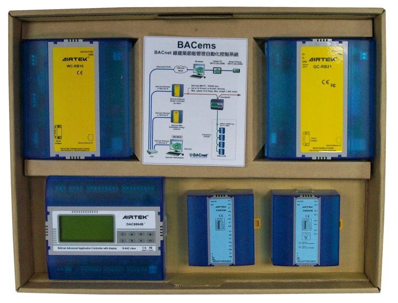 BACnet綠建築節能管理自動化控制系統