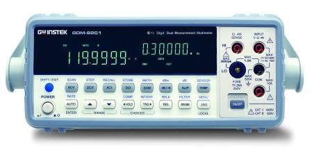 六位半雙顯示數字電錶 / 固緯電子實業股份有限公司