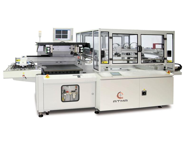 全自動CCD影像對位網印機