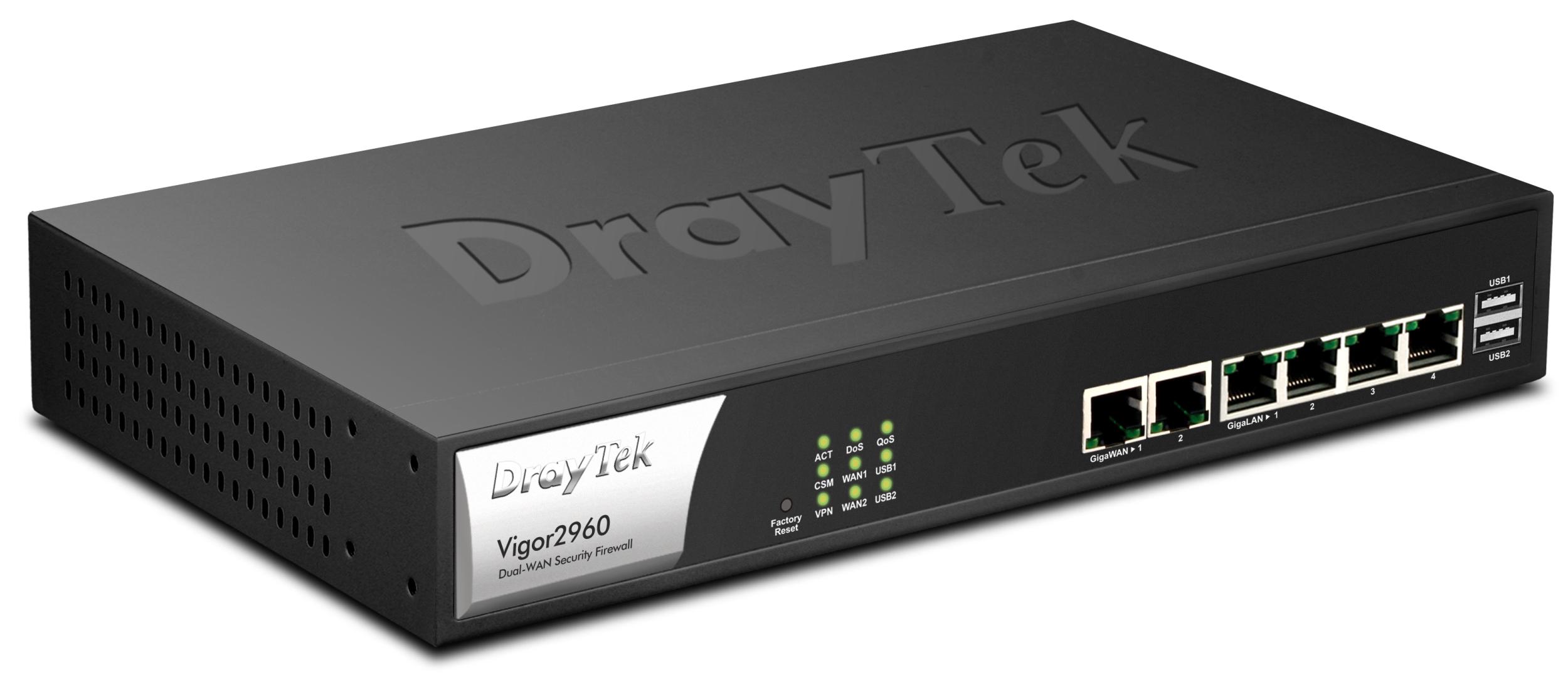 Vigor2960 Dual WAN Security Firewall Series