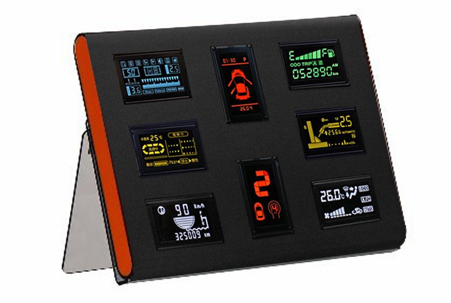 ICON型OLED顯示器模組
