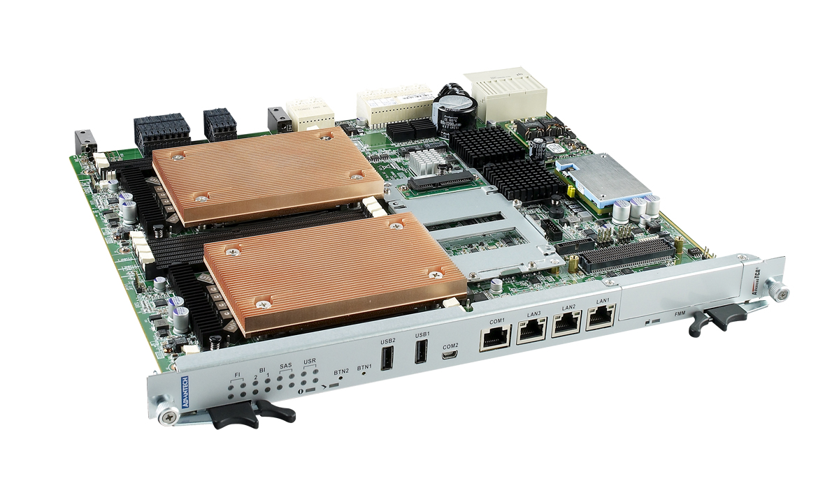 雙處理器ATCA先進通信主機板