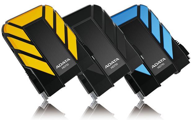 防水、抗震USB3.0外接式硬碟 / 威剛科技股份有限公司