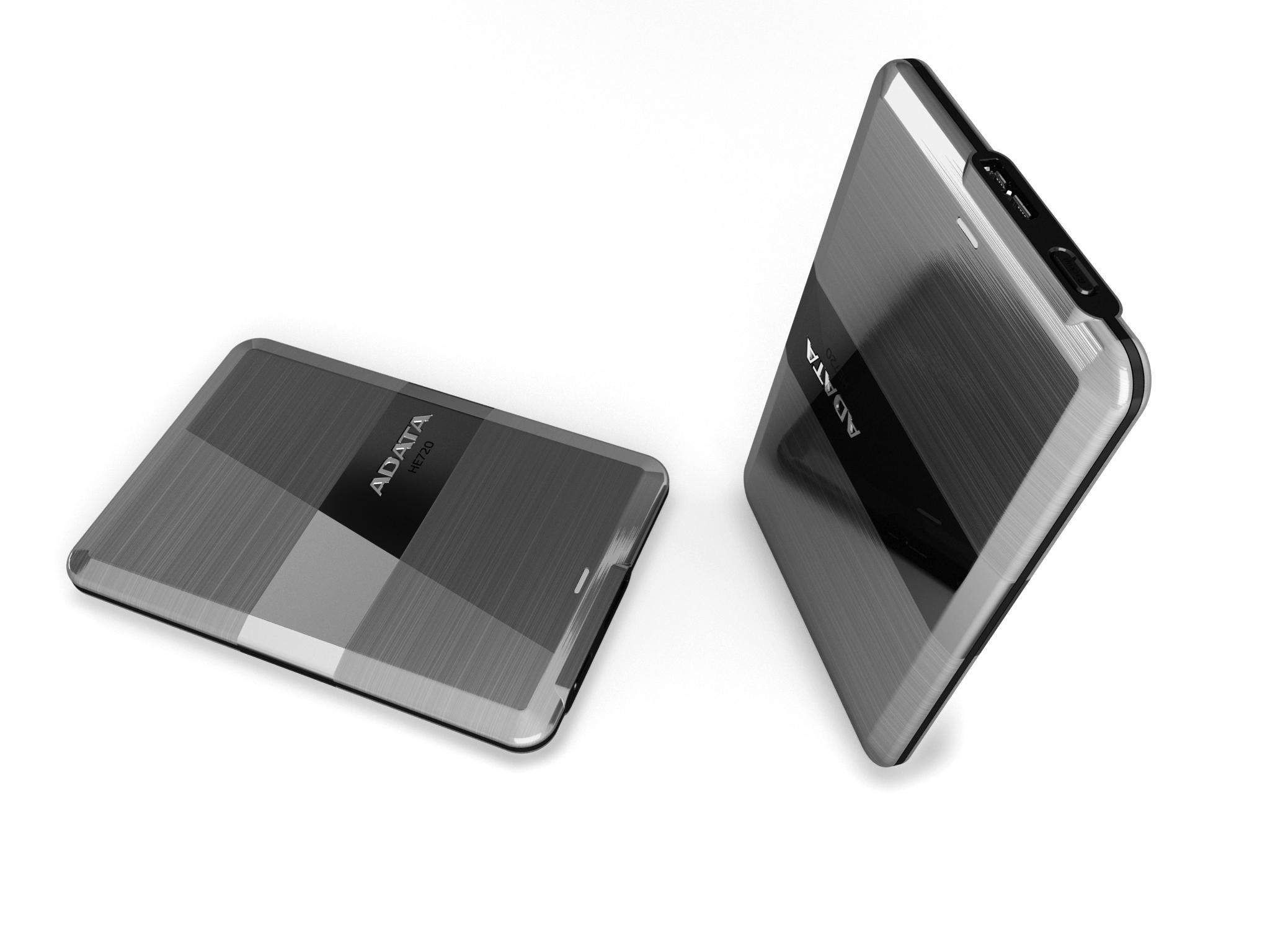 金屬時尚超薄USB 3.0外接式硬碟 / 威剛科技股份有限公司