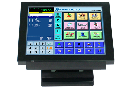 "15"" Bezel True Flat Touch POS Terminal / Protech Systems Co., Ltd."