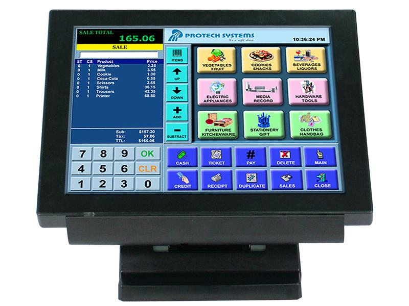 """15"""" Bezel True Flat Touch POS Terminal"""