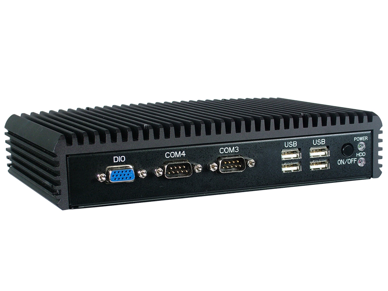 Low Power and Fanless Embedded PC
