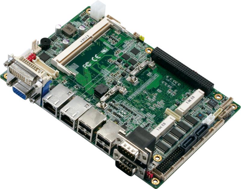 抗震、低功耗、最佳散熱方式的 EPIC單板電腦 / 研揚科技股份有限公司
