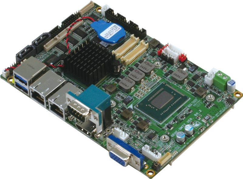 第3代英特爾 Core 高效能嵌入式3.5吋單板電腦 / 研揚科技股份有限公司