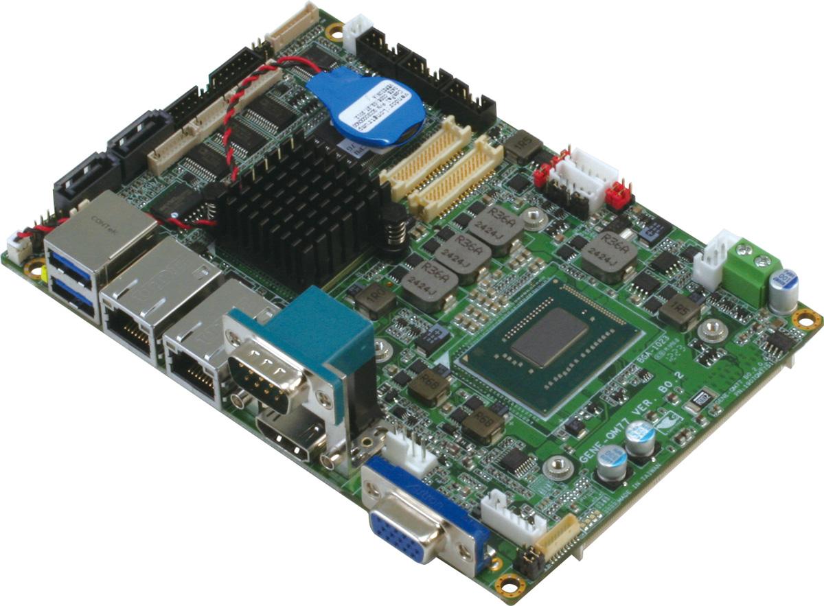 第3代英特爾 Core 高效能嵌入式3.5吋單板電腦