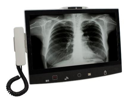 多點觸控床邊醫療照護系統 / 廣積科技股份有限公司