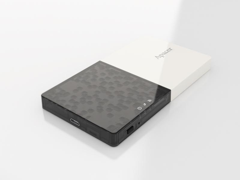 WiFun Portable Wireless Storage