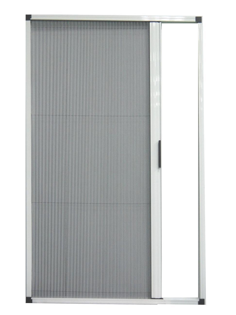 DIY Barrier-Free Pleated Retractable Screen Door / Taroko Door & Windows Technologies, Inc.