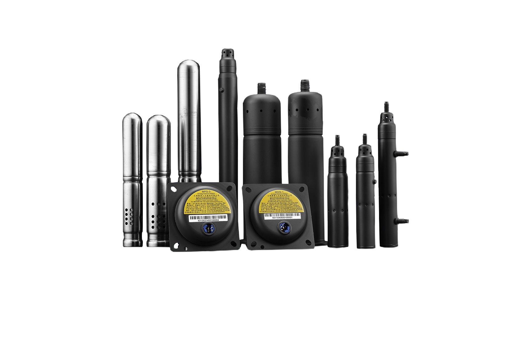 安全氣囊混合型充氣器 / 元翎精密工業股份有限公司