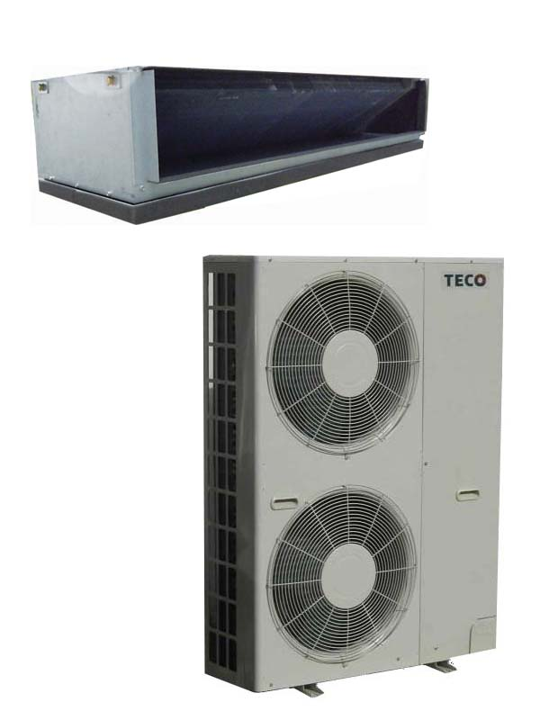 Eco-ducted Split ACs / TECO ELECTRIC & MACHINERY CO., LTD.