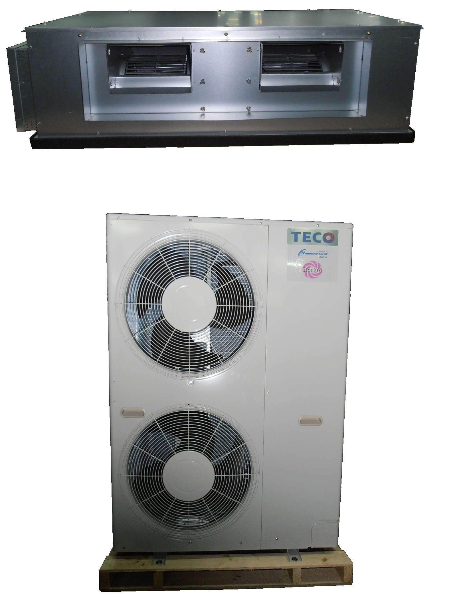 High efficient VRM/high ESP ducted type air conditioner / TECO ELECTRIC & MACHINERY CO., LTD.